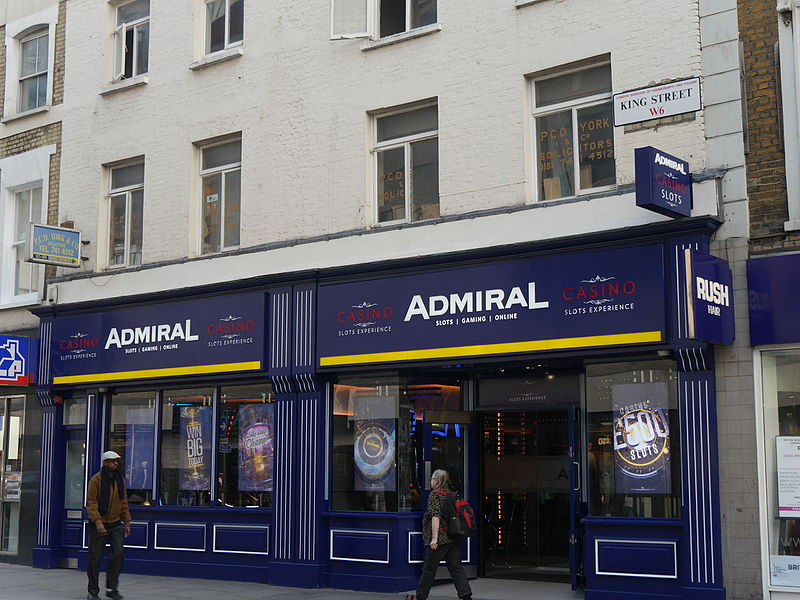 Admiral Casino's Nationwide
