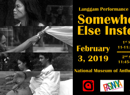 LPT's SOMEWHERE ELSE INSTEAD Performs at the Pasinaya Multi-Arts Festival