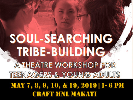 Theatre workshop for young people set in May