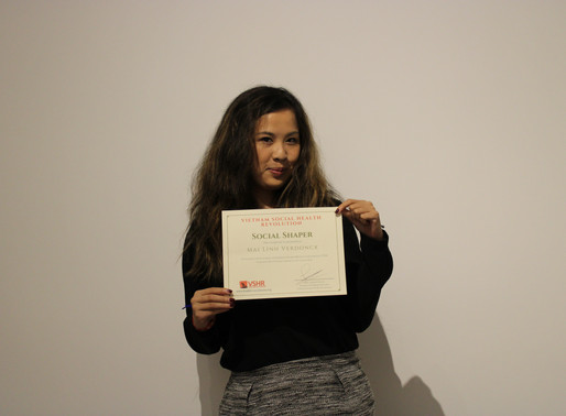Social Shaper Award winning intern Mai Linh