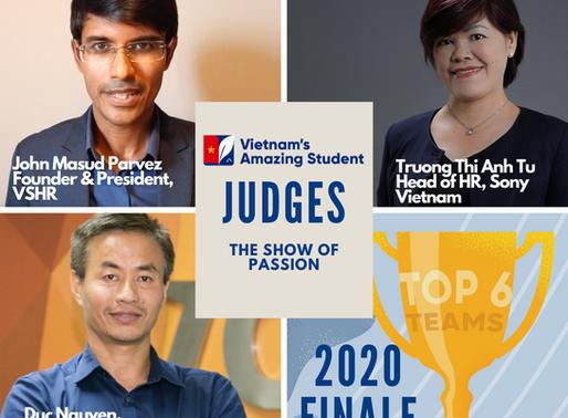 Vietnam's Amazing Student 2020 Finale the Judge panel