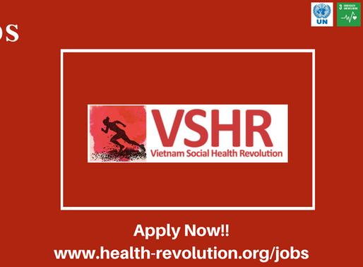 on 2020 VSHR is Expanding again to HELP more Vietnamese people, JOIN VSHR !