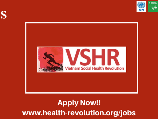 on 2020 VSHR is Expanding again to HELP more Vietnamese people, JOIN VSHR !