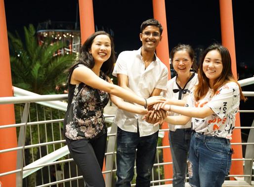 Thực tập sinh từ Australia, Belgium, Singapore tại chương trình Impact Shapers