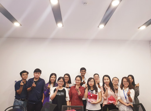 Hướng dẫn kỹ năng trình bày và kết quả cuộc thi đố vui chương trình học bổng Share for live