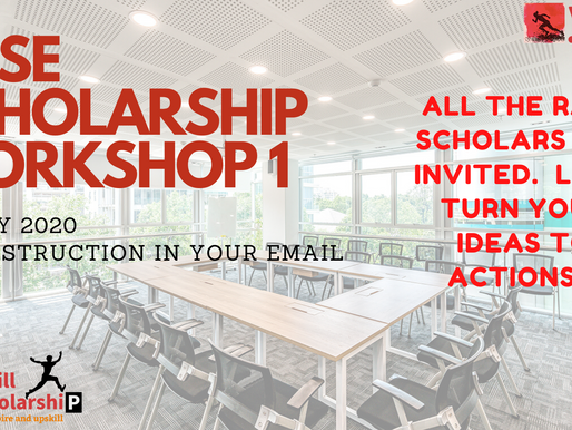 Raise a social entrepreneur (RASE) Scholarship workshop starting on 12th July 2020