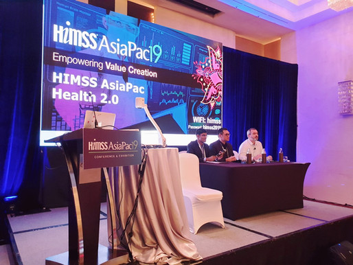 As Judge my 6 Criteria to measure a tech startup success at HIMSS 2019