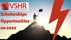 On 2020 VSHR will offer 200 Scholarships, 700 webinar, 50+ idea incubation, Constant Health advices