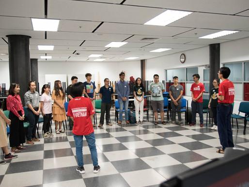 Thank you VSHR First Aid Hero Factory from RMIT University English Club