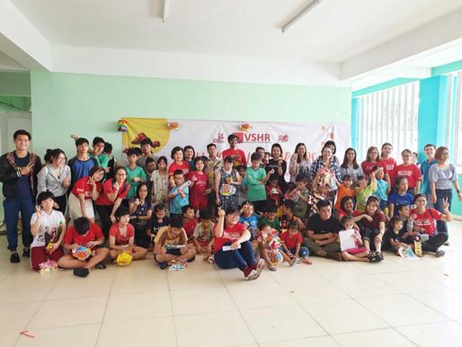 VSHR Organized a meaningful Health Festival for Tam Binh Orphan village's 190 kids