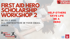 First Aid Hero Factory Workshop 2 Happening 26th July 2020