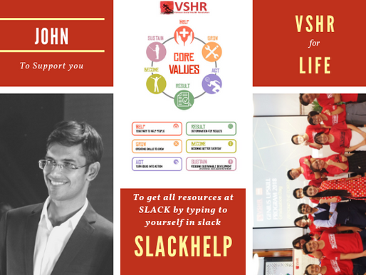 Culture and values  provide the foundation for VSHR  to build  everything on top.