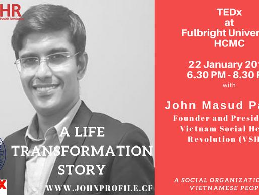 Gặp VSHR tại TEDx - Đại học Fulbright