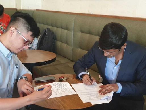 Handshake between VSHR and ALS to empower UN SDG 17 for Vietnamese people