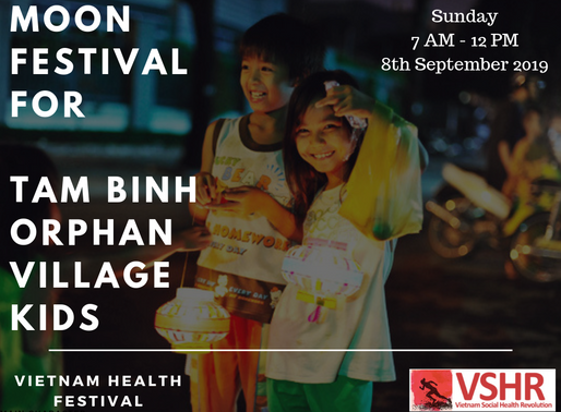 Vietnam Health Festival for 190 Orphan kids on September 2019