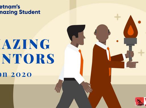 The amazing mentors of Vietnam's Amazing Student season 2020