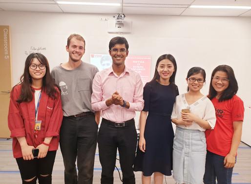 TEDx và việc thành lập CLB Công tác Xã hội VSHR tại Đại học Fulbright.