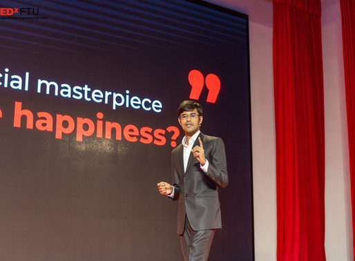 Ted Talk of John Masud Parvez on finding scalable happiness and optimal trade off