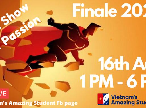 Vietnam's Amazing Student 2020 Finale invitation card