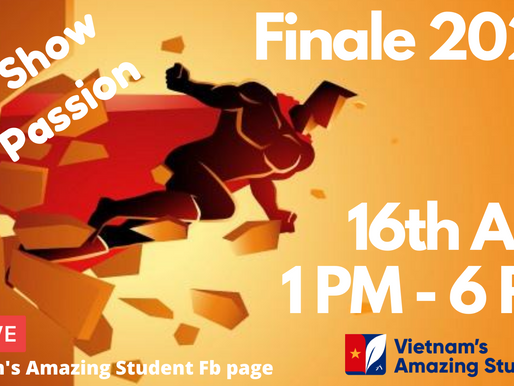 Vietnam's Amazing Student 2020 Finale invitation card