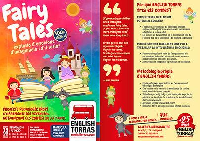 flyer fairy tales