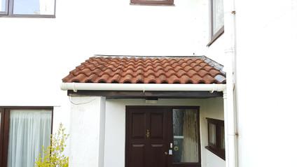1d.Marley Regency Roof Tiles after the Soft Wash solution application