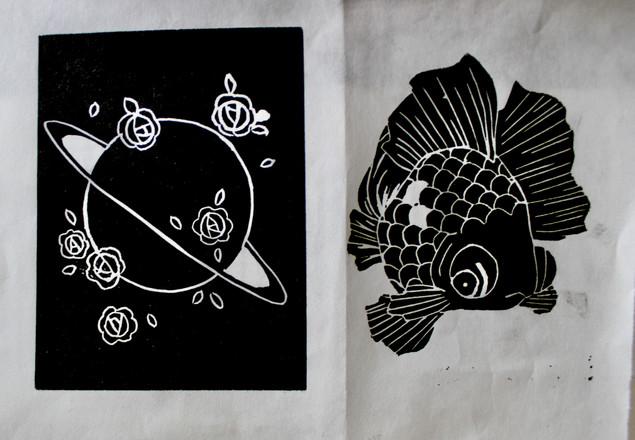 saturn and goldfish