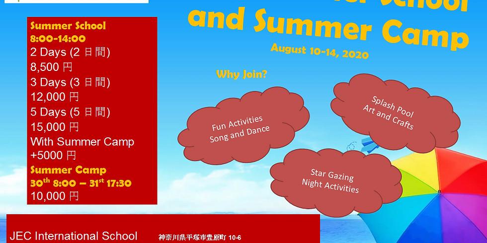 JEC Summer School and Summer Camp 2020