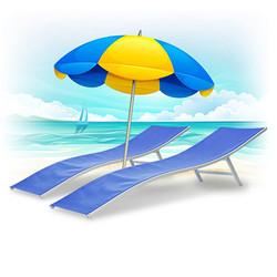 affitto locazione di ombrelloni e lettin