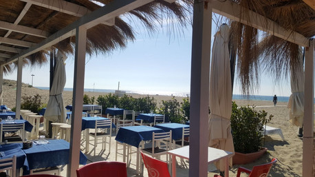 Praradise beach restaurant - ostia lido.