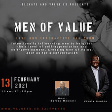 9 MEN OF VALUE - Made with PosterMyWall.