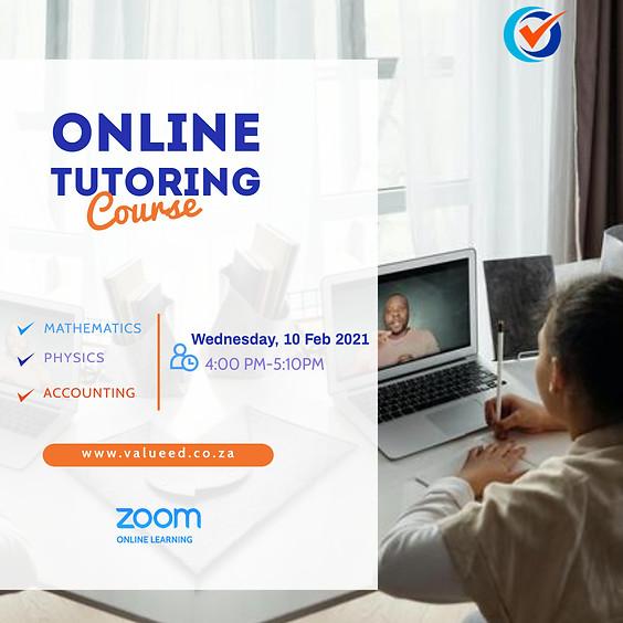 Tutoring Course