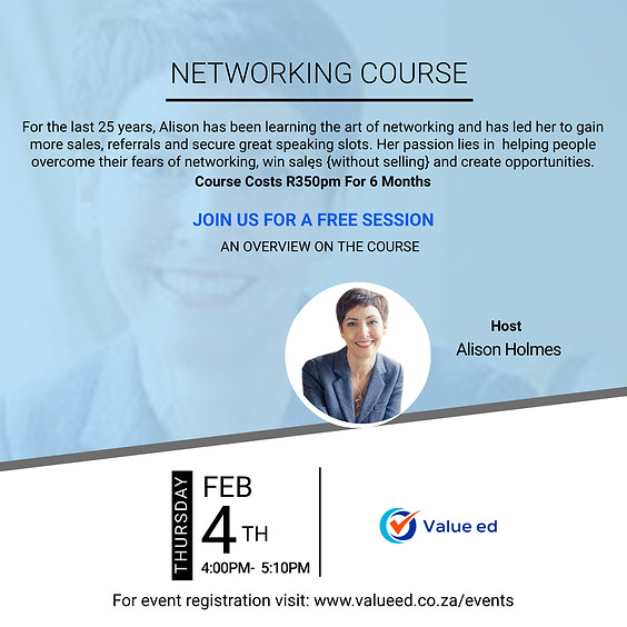 Networking Course Overview