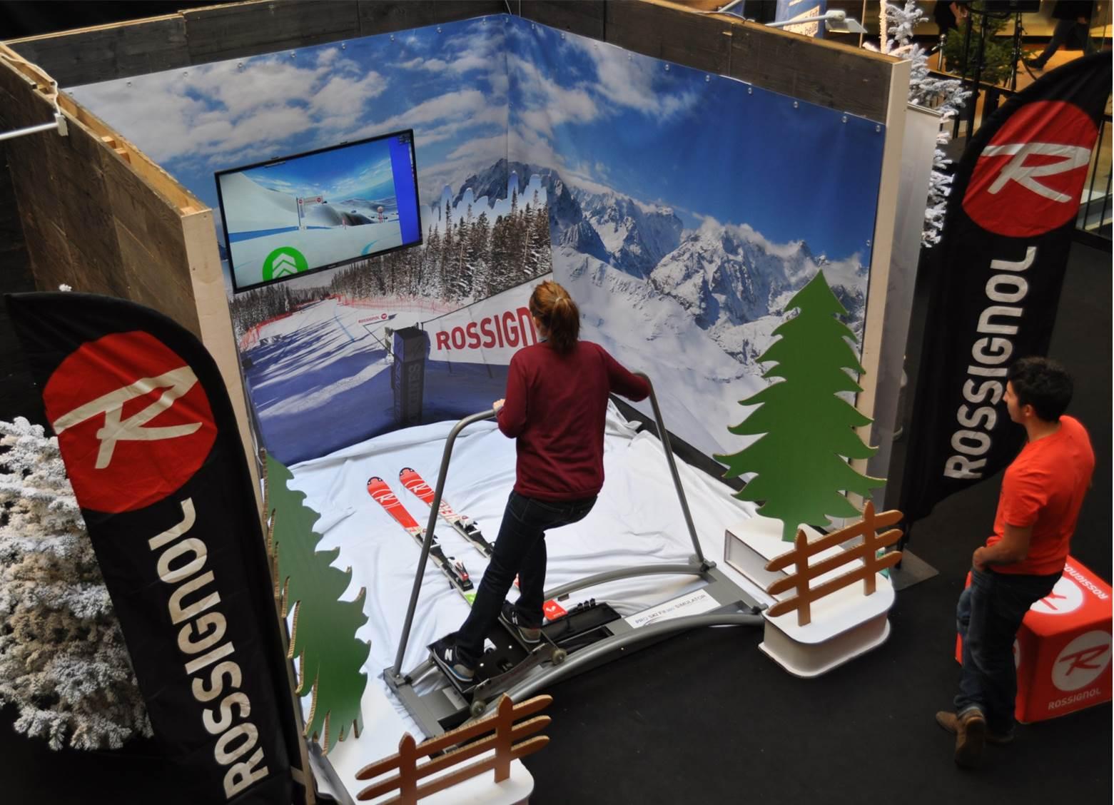 Simulateur Ski Rossignol