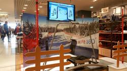 Simulateur Ski Galeries Lafayette