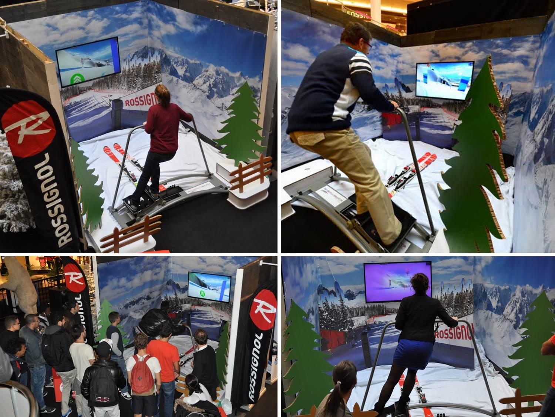 Simulateur Ski Lyon Part-Dieu