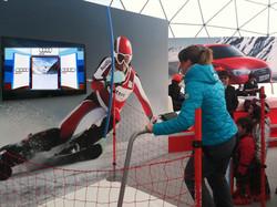 Simulateur Ski AUDI