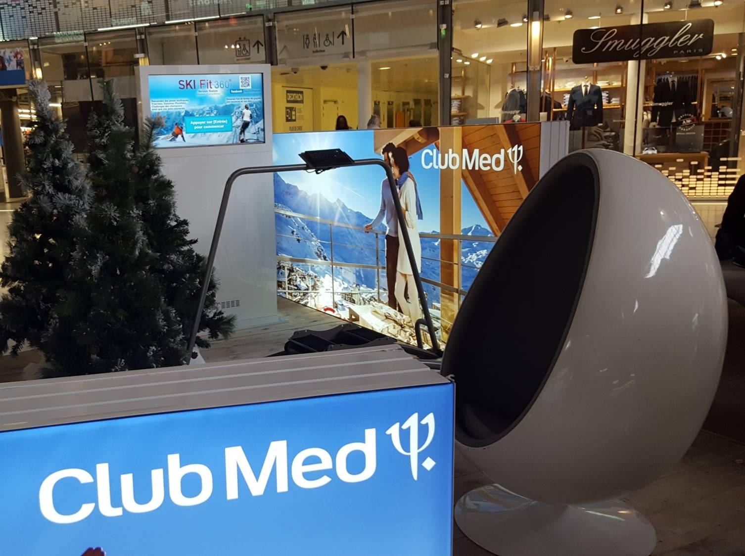Simulateur Ski Club Med