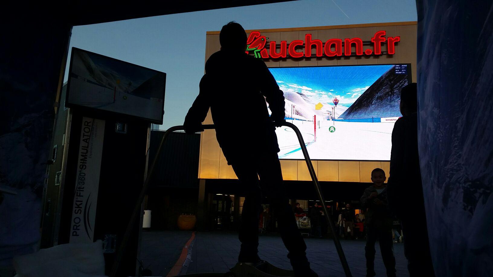 Simulateur Ski Auchan