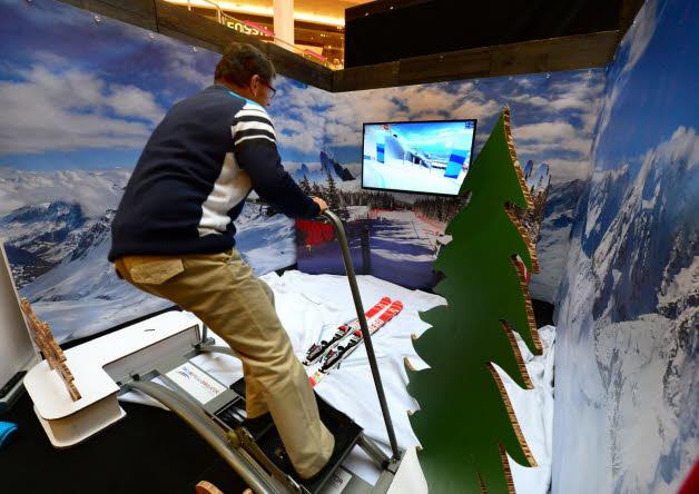 Simulateur Ski immersif