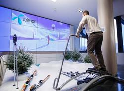 Simulateur Ski