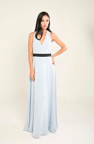 white v neck prom dress singapore