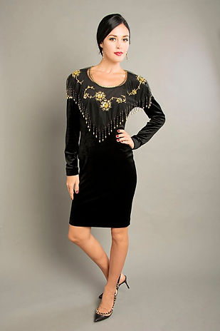 vintage black cocktail dress singapore