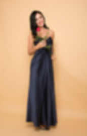navy tube prom dress singapore