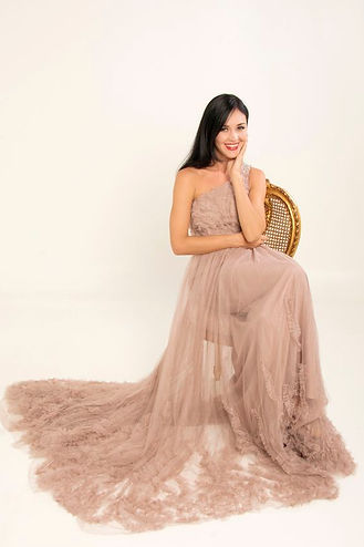 nude evening gowns singapore