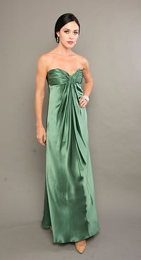 green silk prom dress singapore