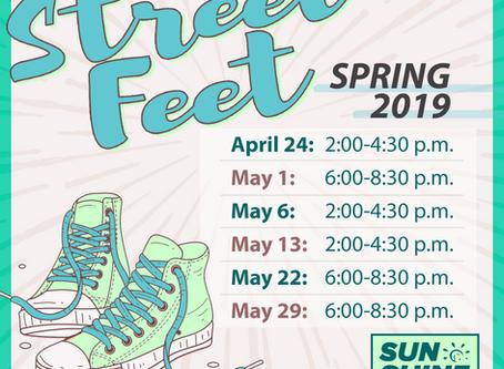 Street Feet for June