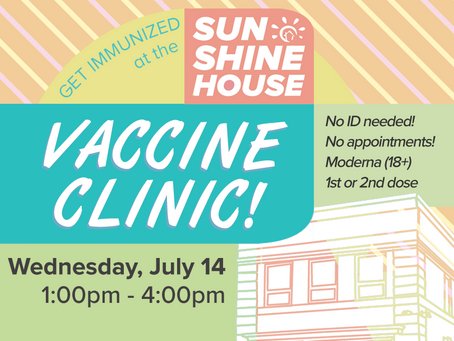 We're having a Vaccine Clinic!