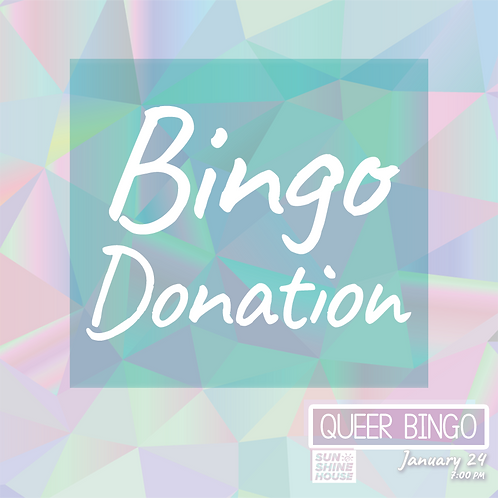 Bingo Donation