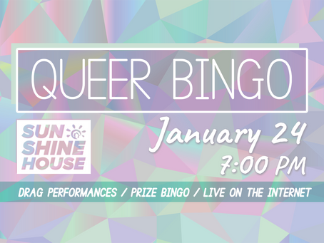 Queer Bingo Rides Again!
